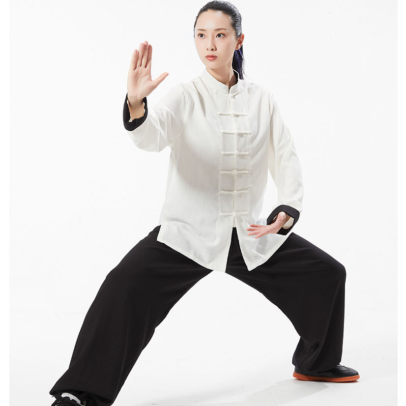 BOLD White Complete Kung Fu Uniform