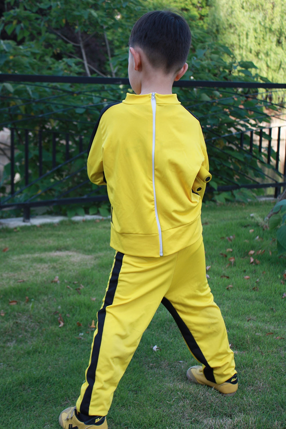 5589f27ad More Views. Customized Child and Adult Bruce Lee Yellow Costume Game of  Death