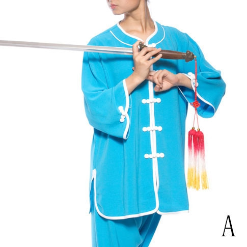b9419ebfa Personalized Women Summer Tai Chi kung Fu Jacket - Ai ling - Tai Chi  Uniforms - NATURAL - Tai Chi - Martial Arts - Webmartial