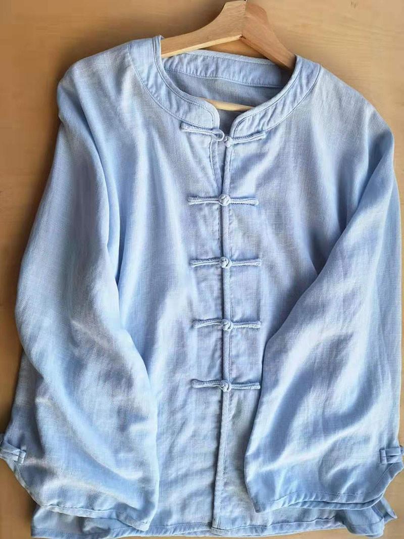 [DESTOCK] Linen and Natural Silk ZEN / Qi Gong Jacket