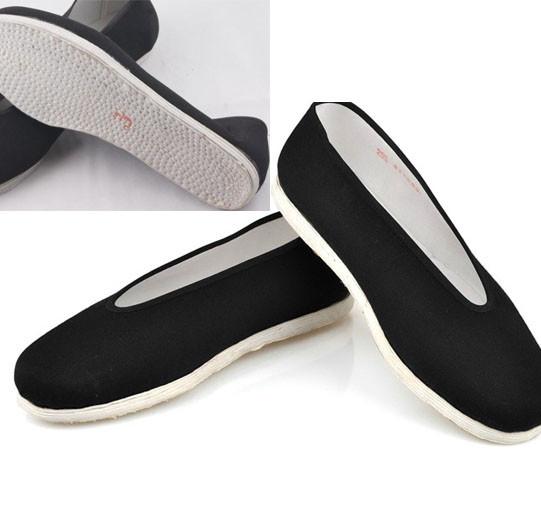 Tissu soles Kung Fu Shoes, Nostalgia Style