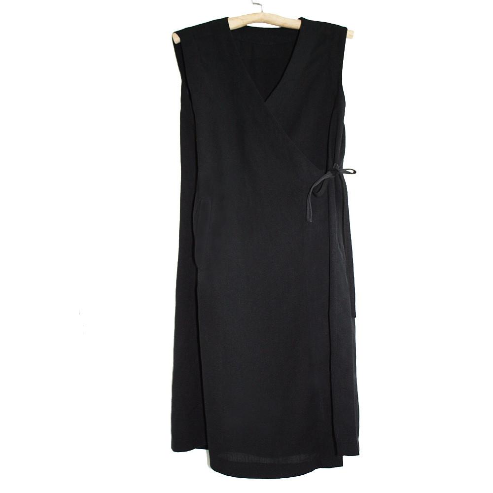 Woman Long sleeveless robe / gilet