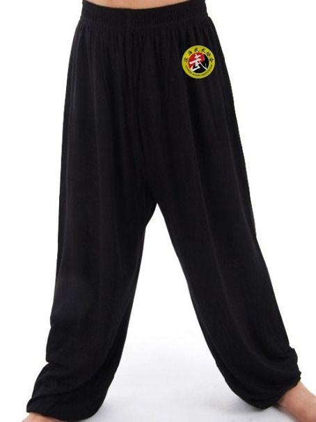 Kids Chinese Wushu Association Kung Fu Pants