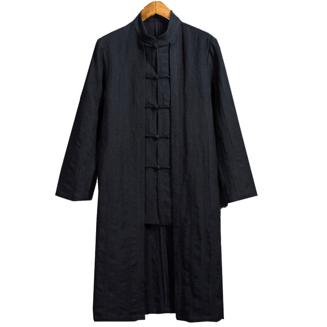 Double-layered Fake Two-piece Chinese Coats for Man