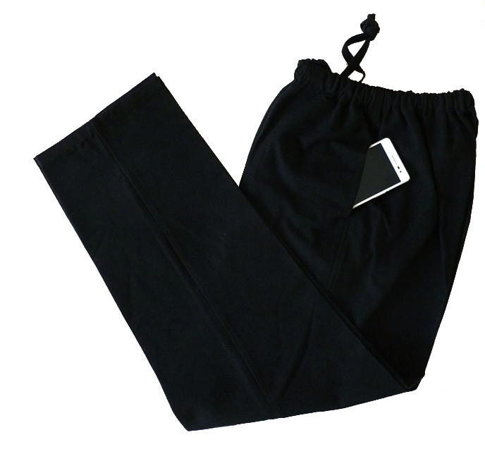 [WINTER SALE -20%] Coarse Kung Fu cotton pants wide bottom, multicolor