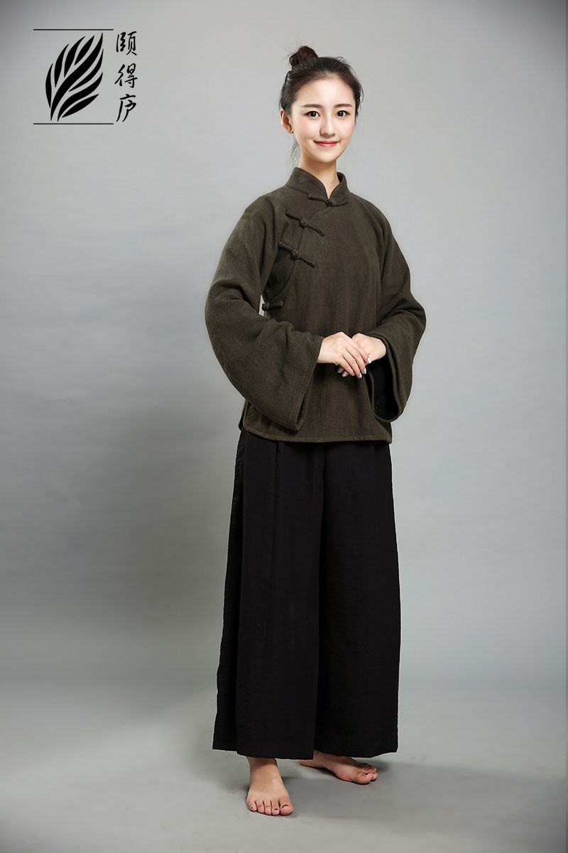 Chinese Traditional Slanted Opening Jacket CHA