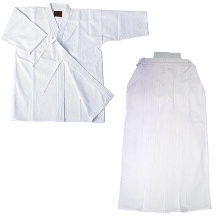 Kendogi (Keikogi) and Hakama White For beginner