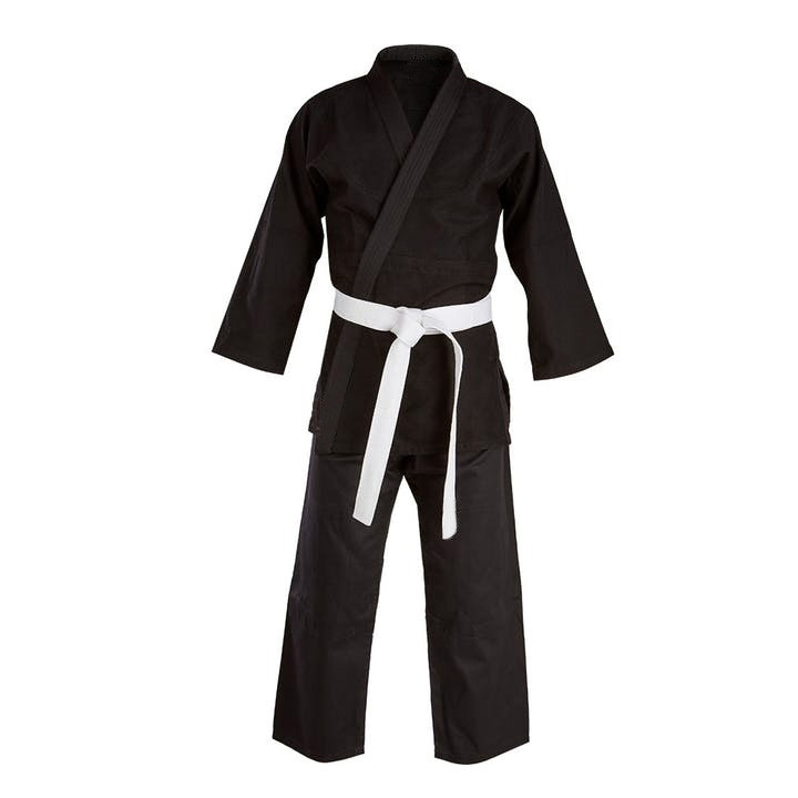 Cotton Training and Competition Kempo/Kenpo Uniform Black