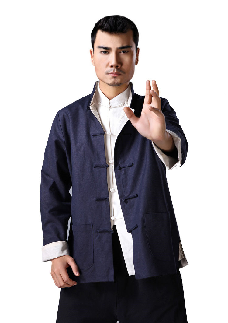 Kung Fu Reversible Jacket, Yip Man - Kung Fu Jacket - Kung Fu