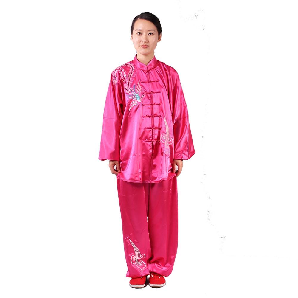 [DESTOCK] Tai Chi Woman Uniform Embroidery of Phoenix, Feng Huang