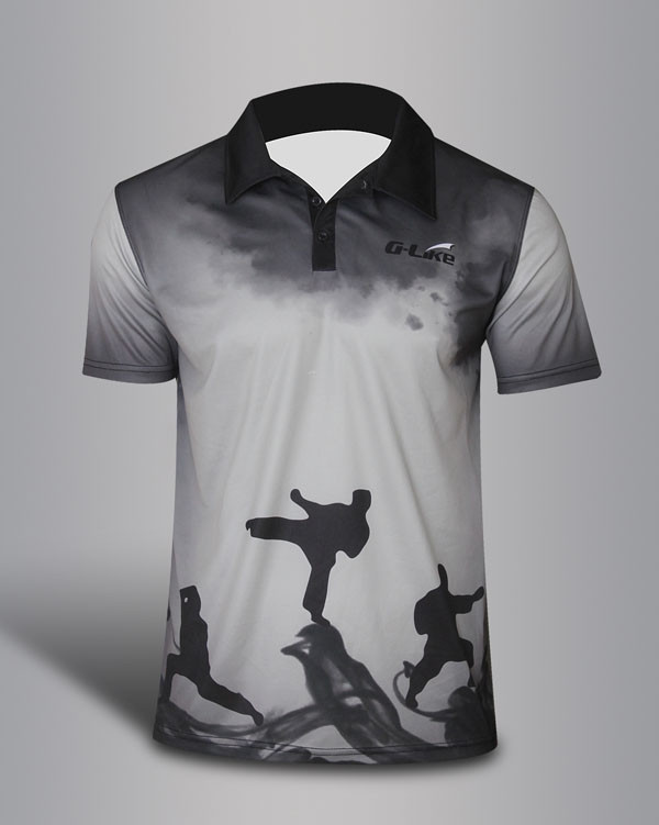 Quick Dry Polo shirt - Wu Shu