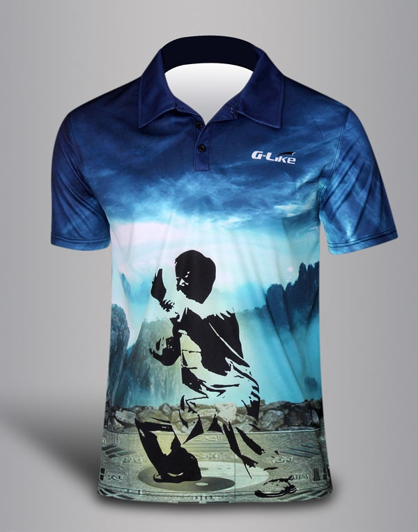 Quick Dry Polo shirt - ZEN Tai Chi