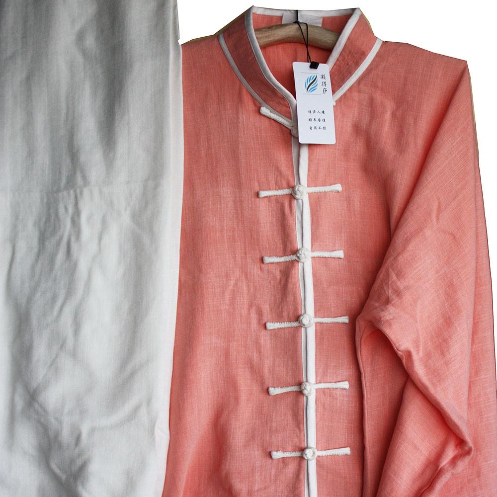 Personalized linen Tai Chi / Kung Fu Top, Uniform