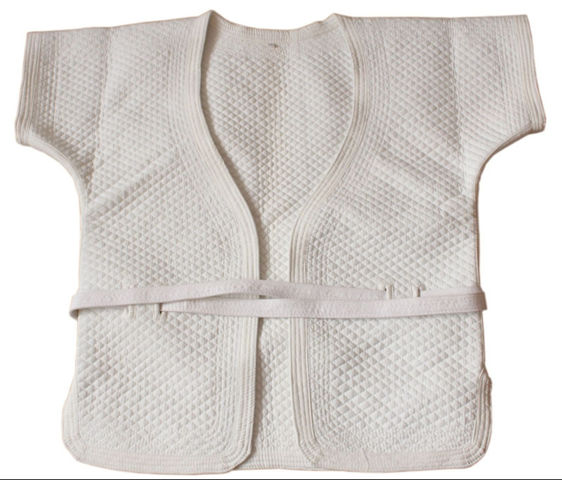 White Thick Cotton Shuai Jiao/Wrestling Jacket