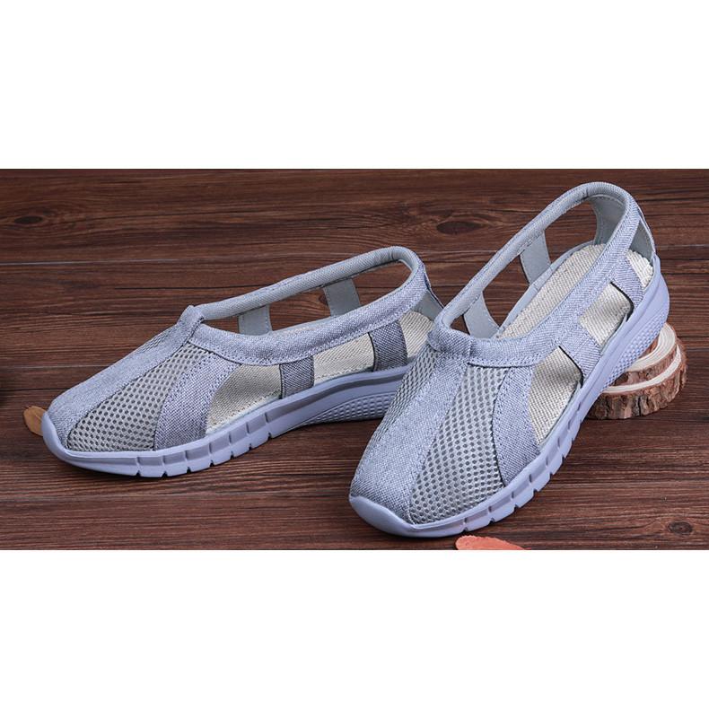 Breathable Shaolin Cotton Monk Sandals