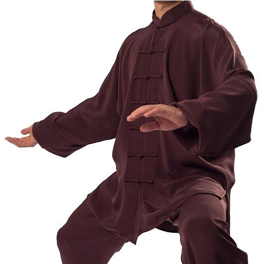 Personalized Tai Ji Uniform Natural Silk 4.55onz(129g)/㎡