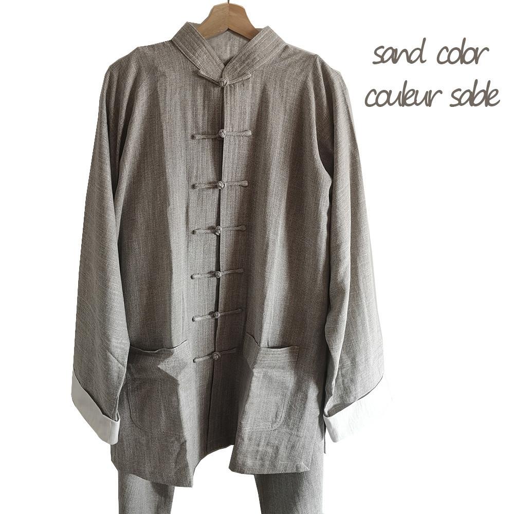 [Destock] Linen Wing Chun Kung Fu Uniform