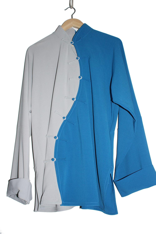 Personalized Linen Tai Chi Uniform Yin Yang Yu