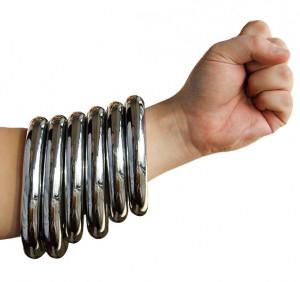 Metal bracelet Nan Quan, Hong Jia Quan, Tie Xian Quan, 3 sizes