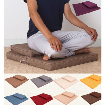 Meditation Cushion With Natural Coconut Fibers Filling