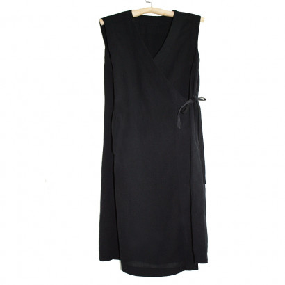 Woman Long sleeveless robe / gilet