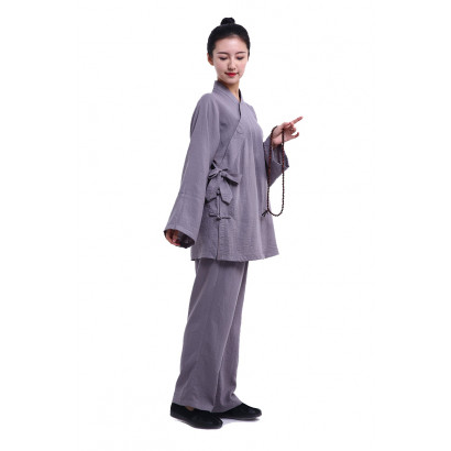 Personalized Linen and Silk Taoist ZEN Uniform