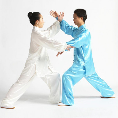 Tai Chi Uniform Imitation Silk (Korean Silk)