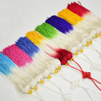 Straightsword tassel mixed color 47 cm / 1'7''
