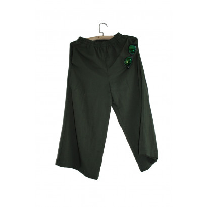Summer Woman Linen Outdoor Pants Qing Shan