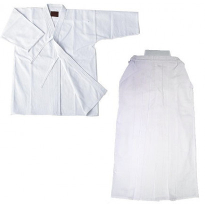 Kendogi (Keikogi) and Hakama White For beginner