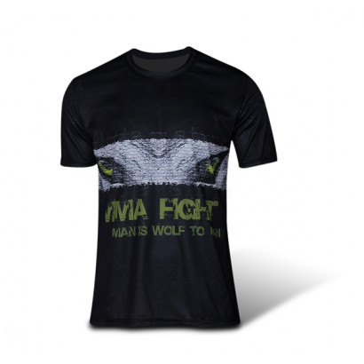 [Destock] T-shirt MMA MAN IS WOLF TO MAN