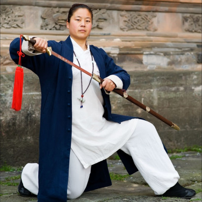 Wudang Spring Long Coat