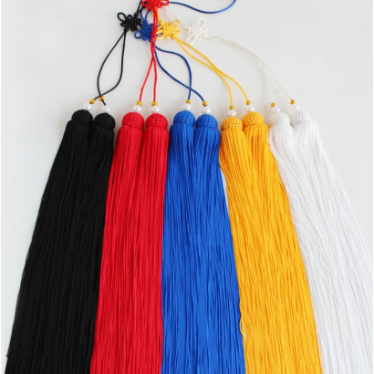 Straightsword Long Tassel uni-color 90cm / 35.4in