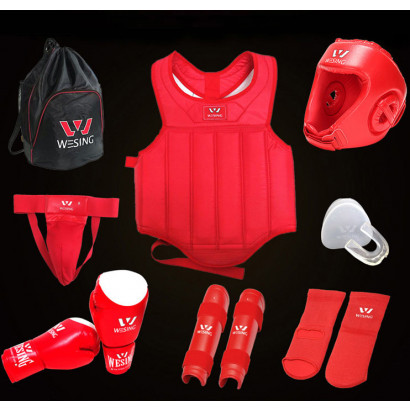 Classical Sanda & Boxing Protective Gear Pack, WESING