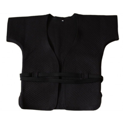 Black Thick Cotton Shuai Jiao/Wrestling Jacket