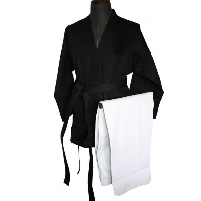 Kempo/Kenpo Uniform Black and White