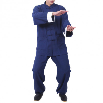 Linen Wing Chun Kung Fu Uniform