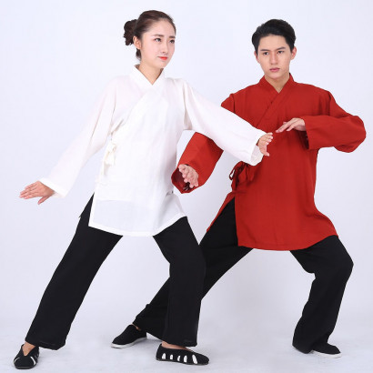 Wudang Tai Chi Uniform with embroidery WU WEI