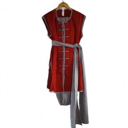 Personalized Linen Sleeveless Kung Fu Nan Quan Top, Uniform