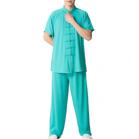 Chang Quan Kung Fu/Tai Chi Athlete Uniform, Cooling fabric
