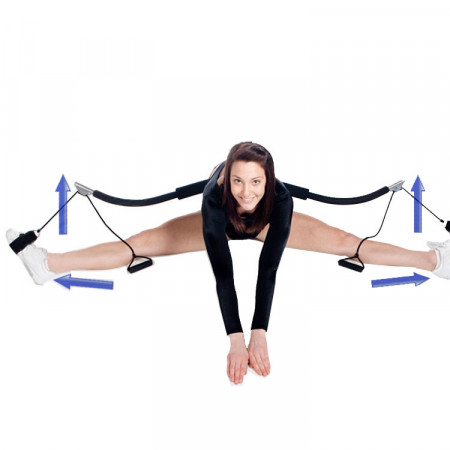 Foldable Leg Stretcher Accelerator / Fitness Stretch Machine