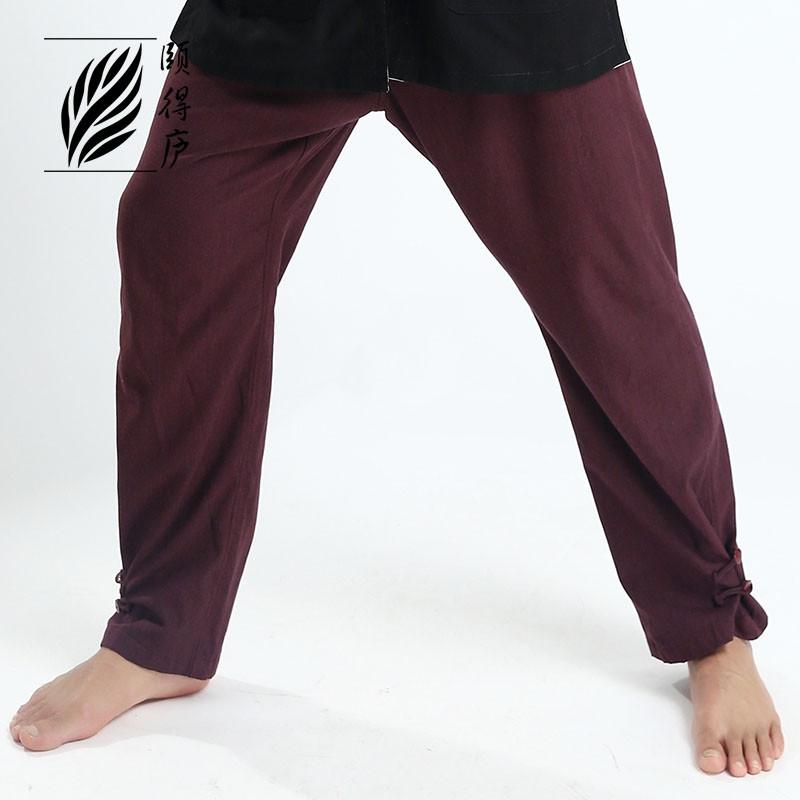 destock pantalon en coton pais ru yi bas serr tenues qi gong m ditation qi gong. Black Bedroom Furniture Sets. Home Design Ideas