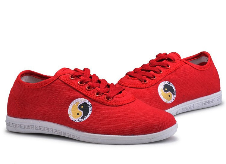[DESTOCK] Chaussures Tai Chi Kung Fu Wulin No.1 en toile ROUGE 36