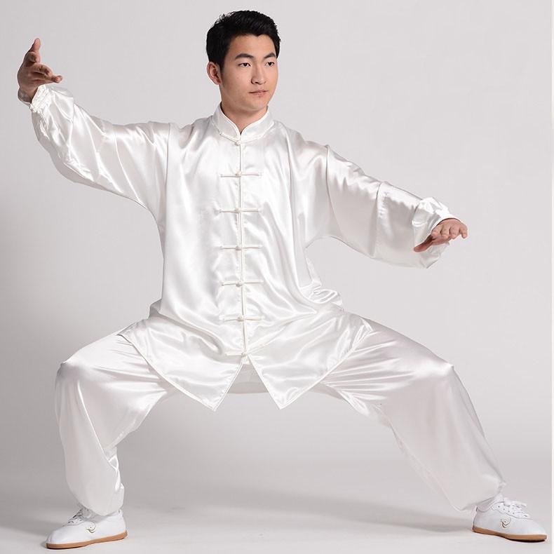 [DESTOCK] Tenue Tai Chi en imitation soie (soie coréenne) XL 175 cm