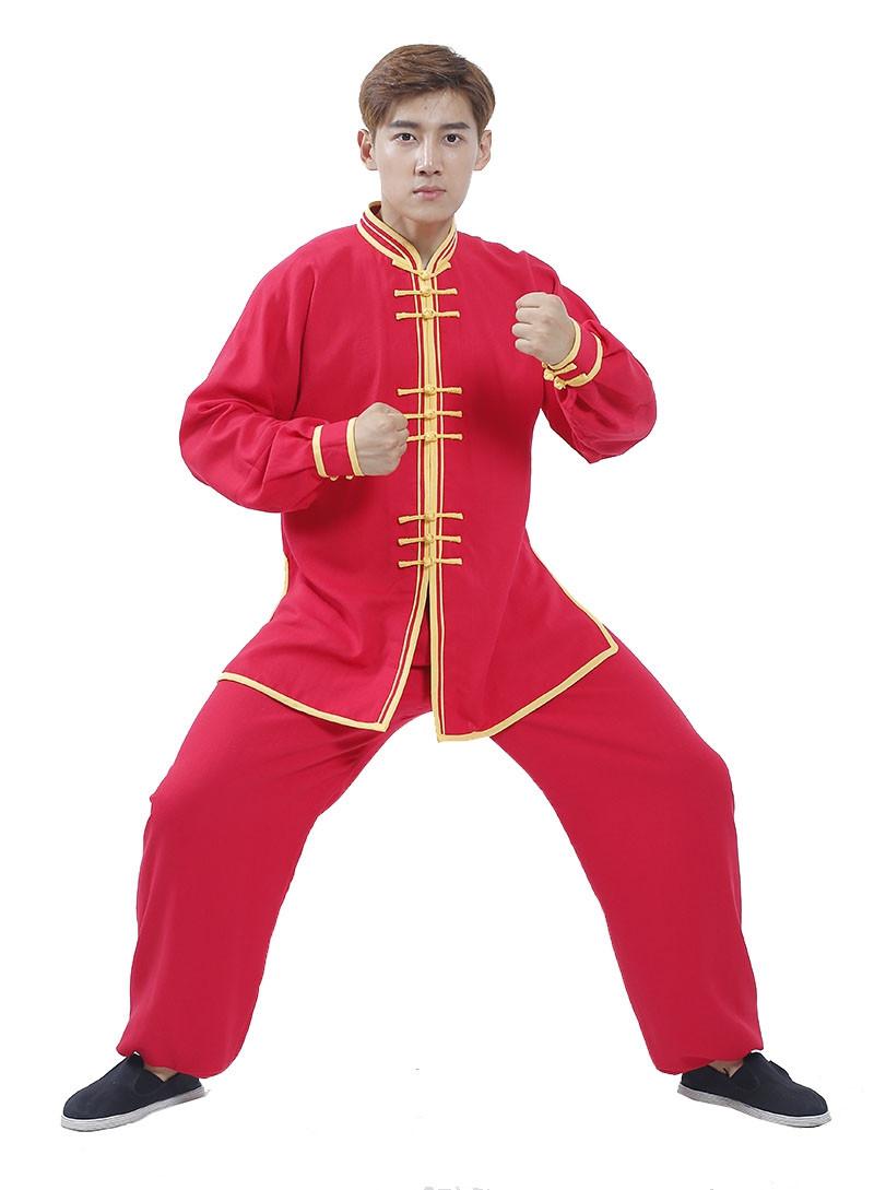 Tenue chinoise traditionnelle Tai Chi / Kung Fu / Danse du lion, Ji Xiang