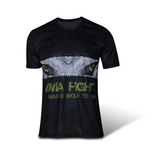 [Déstock] T-shirt MMA MAN IS WOLF TO MAN