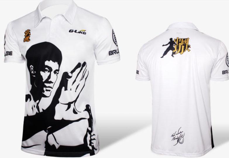 [Déstock]T-shirt - Édition spéciale Bruce LEE blanc