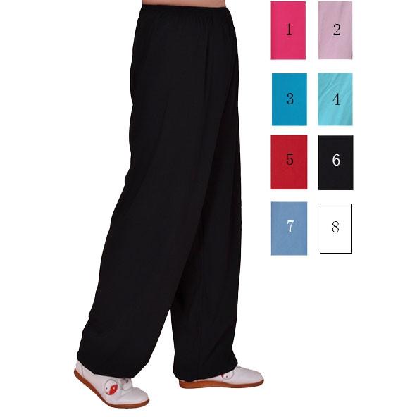 Pantalon Tai Chi coton léger