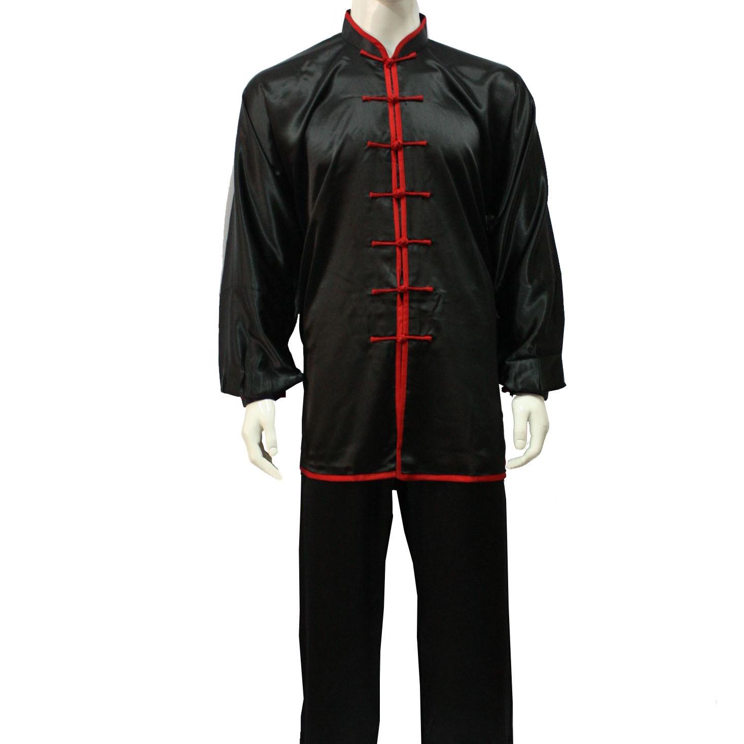 Tenue Personnalisée Tai Chi et Kung Fu en imitation soie