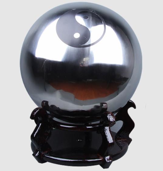 Balle de Tai Chi en acier inoxydable poids léger